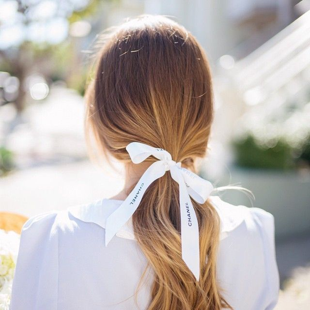 low ponytail wedding hair ideas