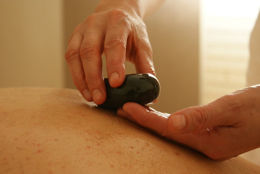 massage styles hot stones