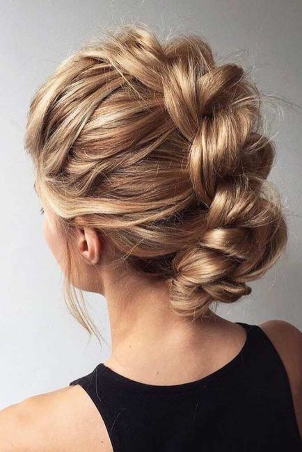 Faux Hawk wedding hair ideas